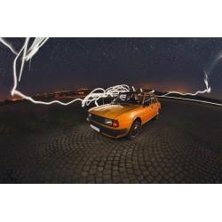Plakát Škoda oranžová