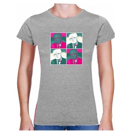 Tričko s potiskem dámské Husák popart 1