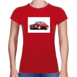 Autorské tričko s potiskem dámské Alfa Romeo (Libor Hotar)