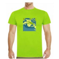 Tričko s potiskem pánské Citroën 2CV Kachna