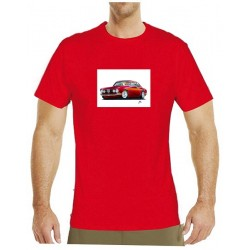 Autorské tričko s potiskem pánské Alfa Romeo (Libor Hotar)