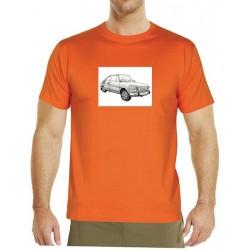 Autorské tričko pánské s potiskem MB (M.Metelková)