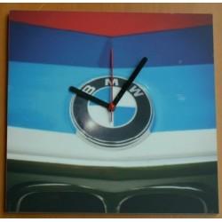 Nástěnné hodiny BMW maska