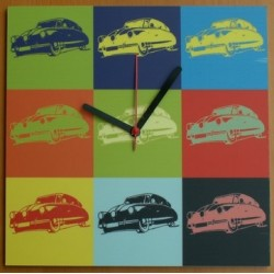 Nástěnné hodiny Tatra T87 popart
