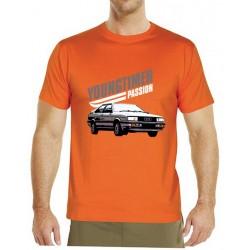 Tričko s potiskem pánské youngtimer Audi GT Coupé