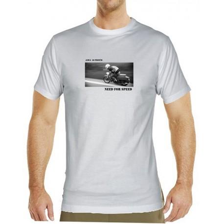 Tričko s potiskem pánské Jawa Pionýr