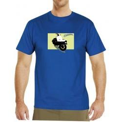 Tričko s potiskem pánské Čezeta Prase 1