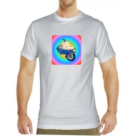 51c936de043 Kvalitní pánské tričko s potiskem motocyklu Čezeta Prase