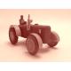 Tričko s potiskem pánské dřevěná hračka Traktor