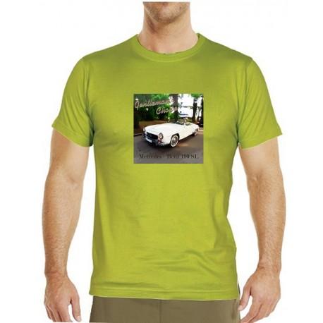 Tričko s potiskem pánské Mercedes Benz 190SL