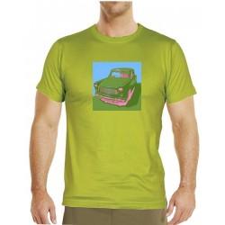 Tričko s potiskem pánské Trabant popart 1