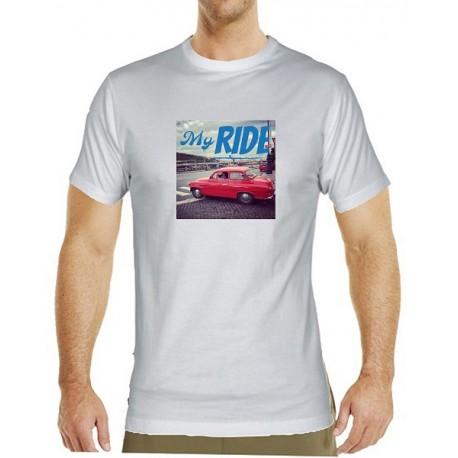 Tričko s potiskem pánské My ride