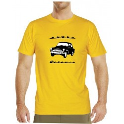 Tričko s potiskem pánské Škoda Octavia černobílá