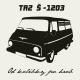 Tričko s potiskem pánské Škoda 1203 TAZ