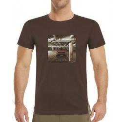 Tričko s potiskem pánské VW Transporter Takes you to heaven