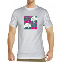 Tričko s potiskem pánské Husák popart 1