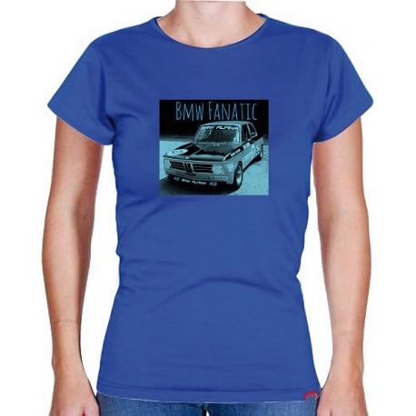 Tričko s potiskem dámské BMW Alpina Fanatic