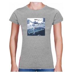 Tričko s potiskem dámské Drive free Drive fast Drive Capri