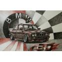 Samolepka hranatá BMW E30 (Filip Buryán)