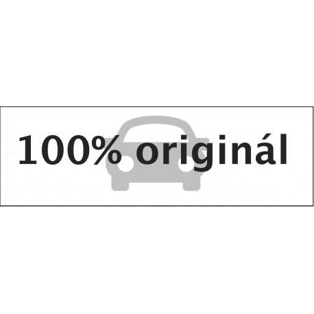 Samolepka hranatá  černobílá100 % originál