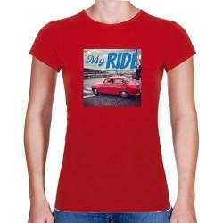 Tričko s potiskem dámské My ride