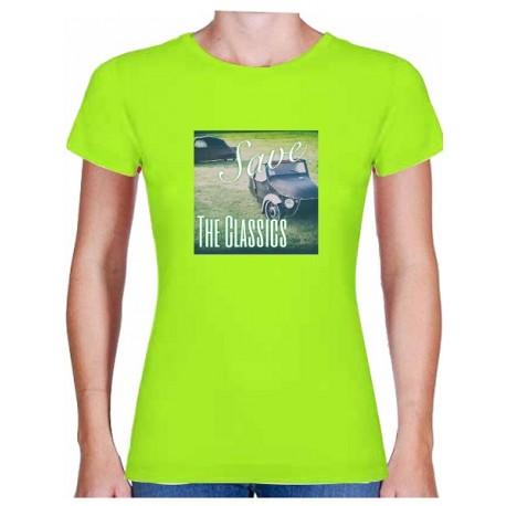 Tričko s potiskem dámské Velorex Save the classics