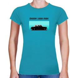 Tričko s potiskem dámské Škoda 1000 MBX