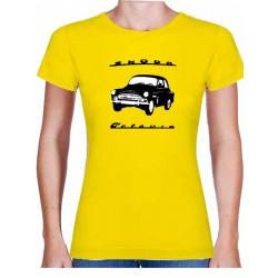 Tričko s potiskem dámské Škoda Octavia černobílá