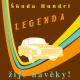 Tričko s potiskem dámské Škoda Hundrt - Legenda žije navěky