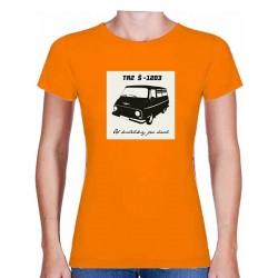 Tričko s potiskem dámské Škoda 1203 TAZ